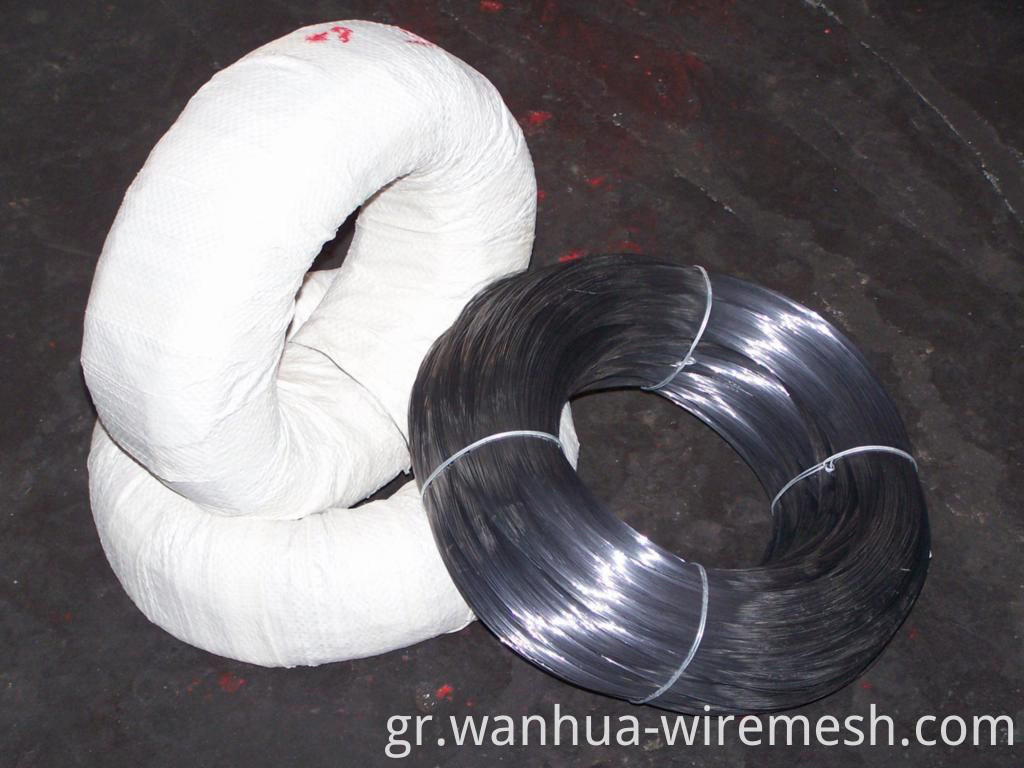 1.1MM diameter round shape Small coil tie wire (1)
