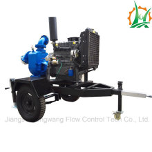 Zw Type Sewage/ Trash Self-Priming Diesel Pump Trailer