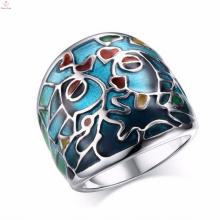 Anéis de noivado de aço inoxidável de Design de moda mais recente preço base