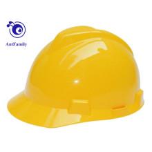CE EN397 ABS / Construction V Type PE Casco de seguridad en venta