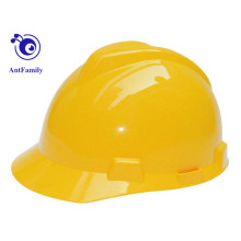 CE EN397 ABS/ Construction V Type PE Safety Helmet for Sale