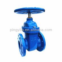 Non-rising stem cuniform cast iron gate valve Z45T-10