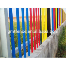 Security metal fence / Aluminum backyard fence / decorative metal fence panels