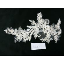 Fábrica de vendas diretamente estilo novo algodão moda casamento bordado tecido de renda