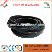 Rubber v belt teeth belt from China supplier