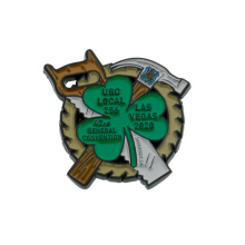 Manufacturer Custom Logo Design Metal Souvenir Gifts Badge