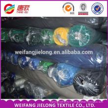 En gros China100% coton teint tissu teint 100% coton solide teints tissu stocks sergé