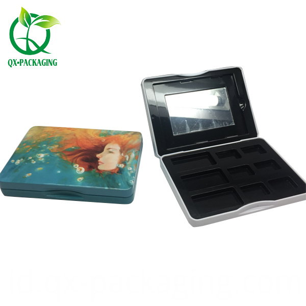 Rectangular Cosmetic Tin Box