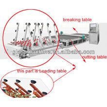 Máquina de corte de vidro automática com mesa YC3725 de carregamento