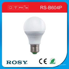 E27 3W porcelaine plastique lumineux LED ampoule