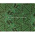 Green Triangle Printing Fabric for Sportswear (HD1401112)
