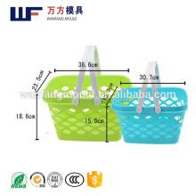 2017 hot sale plastic shopping basket mould injection molding machine