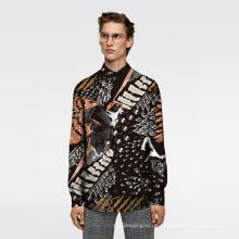 Digitaldruck Stoff Calico Cloth Man Shirt Stoff