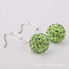 Hot Sale Shamballa Earrings Basketball Wives Earrings Beads BWE54