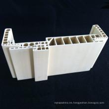 PVC espumado marco de la puerta WPC puerta de la jamba puerta fuerte Df-220h32 resistente WPC Architrave