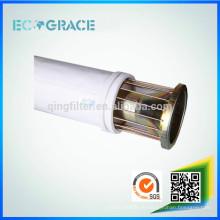 Colector de polvo industrial resistente a la abrasión Filtro de tela de polipropileno