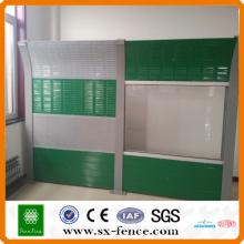 Barrière anti-bruit soudée en 2014 (usine en Chine)