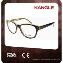 Nouveau cadre optique de lunettes promotionnelles de style