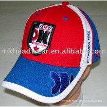 Chapeau de sport à cinq panneaux avec broderie