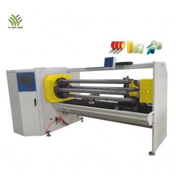 Máquina automática de corte de rolo de fita de espuma de quatro eixos
