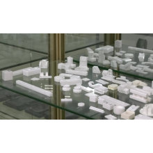 customized zirconia ceramics parts ceramic blades zirconia ceramic tube