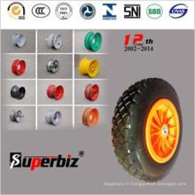 Standard européen de grandes dents solides pneu (3.50-8)