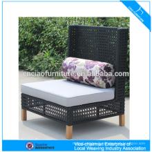 Nouveau style meubles d'extérieur chaise de jardin chaise inclinable en rotin