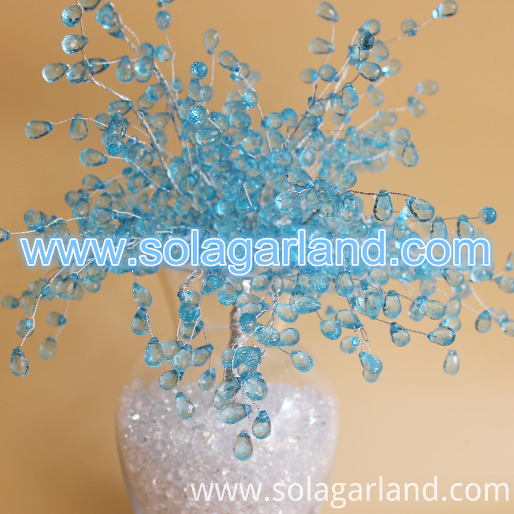 crystal beaded tree branch
