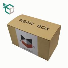 Papier-Material und Lebensmittel-Industrie-Verwendung Flachverpackung selbst falten Geschenkboxen