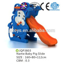 New arrivel Kids animal plastic slide kindergarden