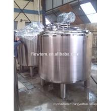Réservoir de mélange de vapeur en acier inoxydable à double chemise