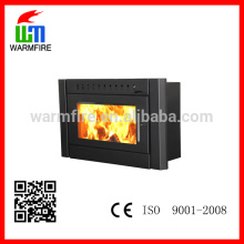 BI2500 25kw big power wood burning fireplace