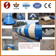 SNC100 100ton cement silo for fly ash storage
