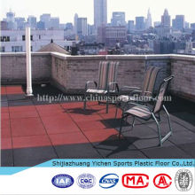 2014 rubber mat,outdoor rubber flooring,outdoor playground safety flooring tiles