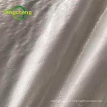 tapis de mauvaises herbes PP de couleur blanche