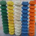Cerca de elo de corrente revestida de PVC com cores diferentes