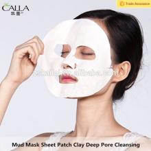 Nettoyant pour le visage Premium Mud Mask Mask Patch Patch Spa