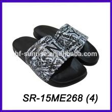 women printed new design woman slipper