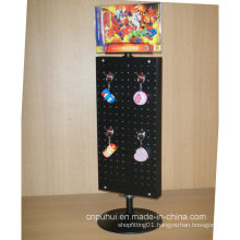 Counter Top Metal Spinning Keychains Display (PHY158)