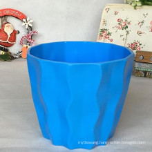 2016 New Design Colorful Plastic Plant Pot