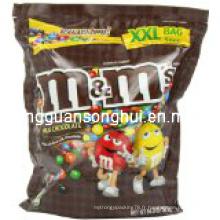 Sac en plastique d'emballage de sucrerie / sac doux de sucreries / sac de gouttes de gelée