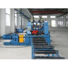 Straightening H Beam Welding Line , 25KW Mechanical Flange