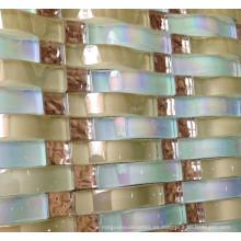 Mosaico de cristal de mosaico, azulejo de pared de mosaico (HGM376)