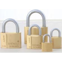 Pas cher en laiton Padlock usine en gros SGS Shengli cadenas en laiton cadenas