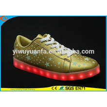 2016 Hot Quality Popular Light Flashing Sneaker LED Shoes Light Up for Christmas Gift