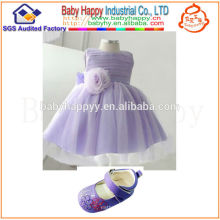 Top selling factory direct supplier Summer vintage little girls dresses Ruffles