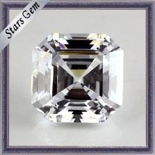 Модные ювелирные изделия набор листьев белого кубического циркония драгоценный камень свободные бусины (STG-55)