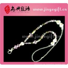 bunte handgemachte Förderung Hochzeit Guangzhou personalisierte benutzerdefinierte Jewelled rosa Diamant Stein erste Großhandel Kristall Schlüsselbund