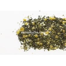 Mezcla de jarabe de frutas con sabor a mango natural con té verde