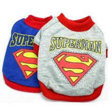New Style Pet Clothes Superman Pet Clothes for Dogs Fashion Superman Pet Clothes